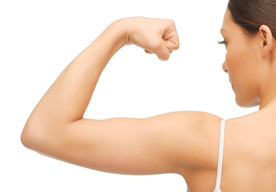 How to get toned triceps - no equipment required