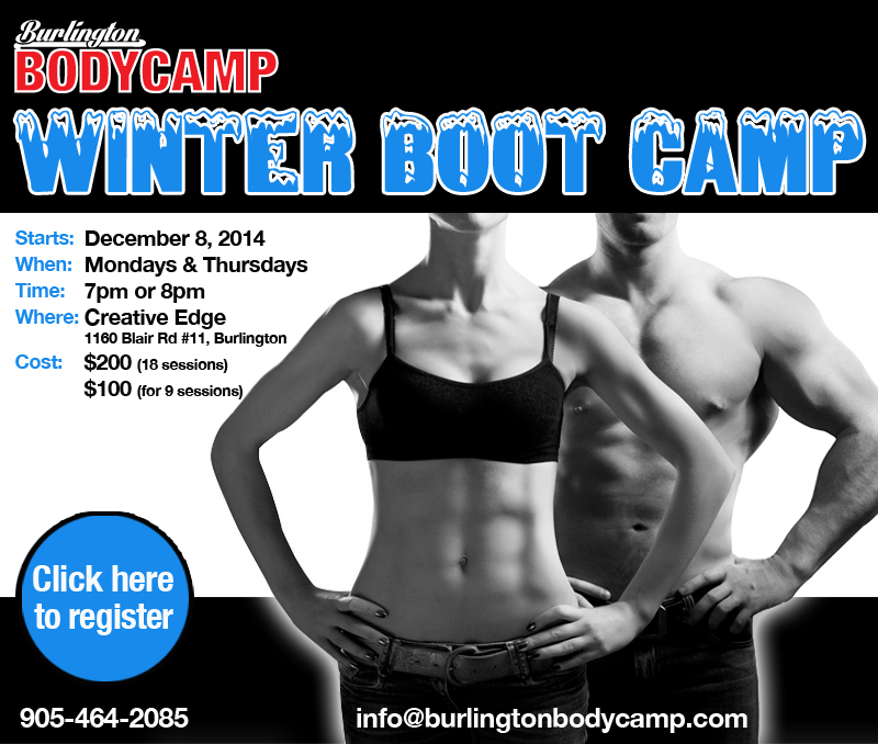 Burlington Body Camp Winter Session 2014