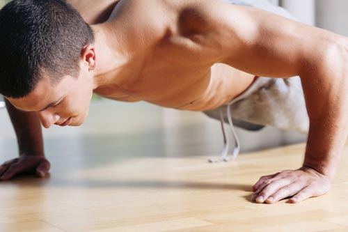 Why push-ups should be a part of your at-home workout