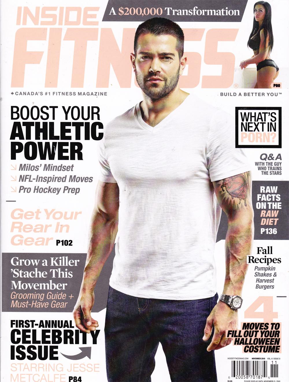 Inside Fitness Magazine, November 2016