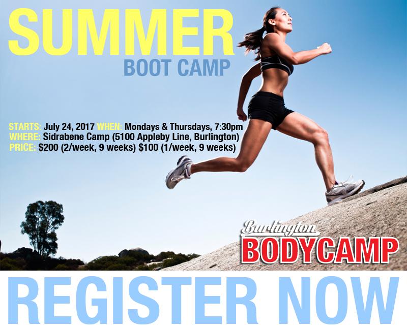 Burlington Body Camp Summer Session 2017