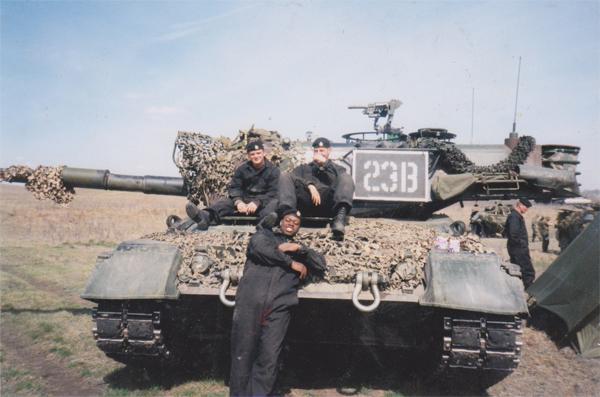 Matt Johnson Canadian Armed Forces